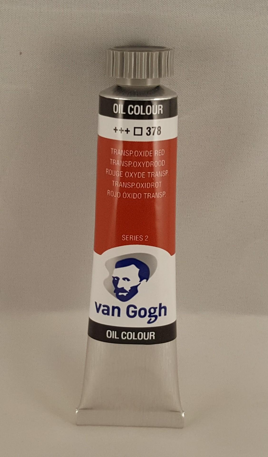 Tinta de óleo Van Gogh transp. oxide red