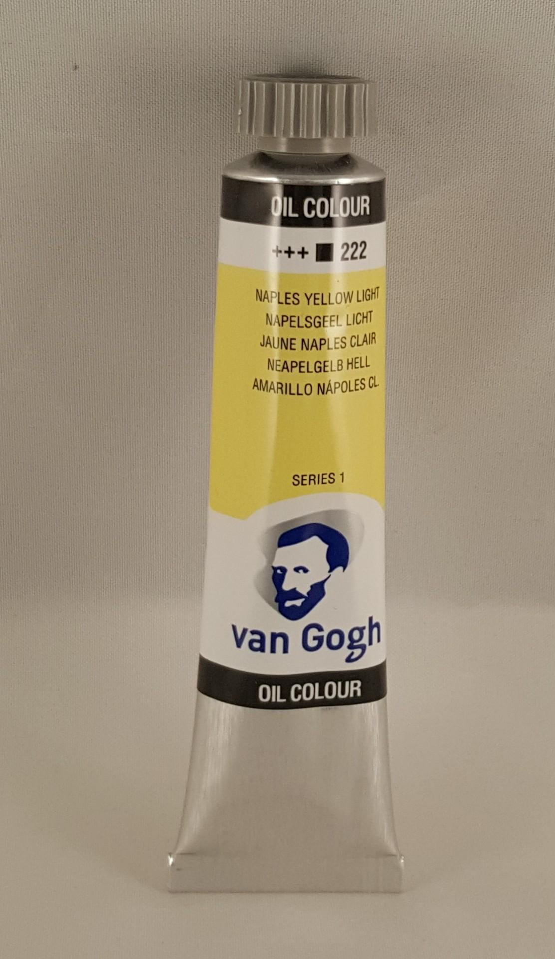 Tinta de óleo Van Gogh naples yellow light