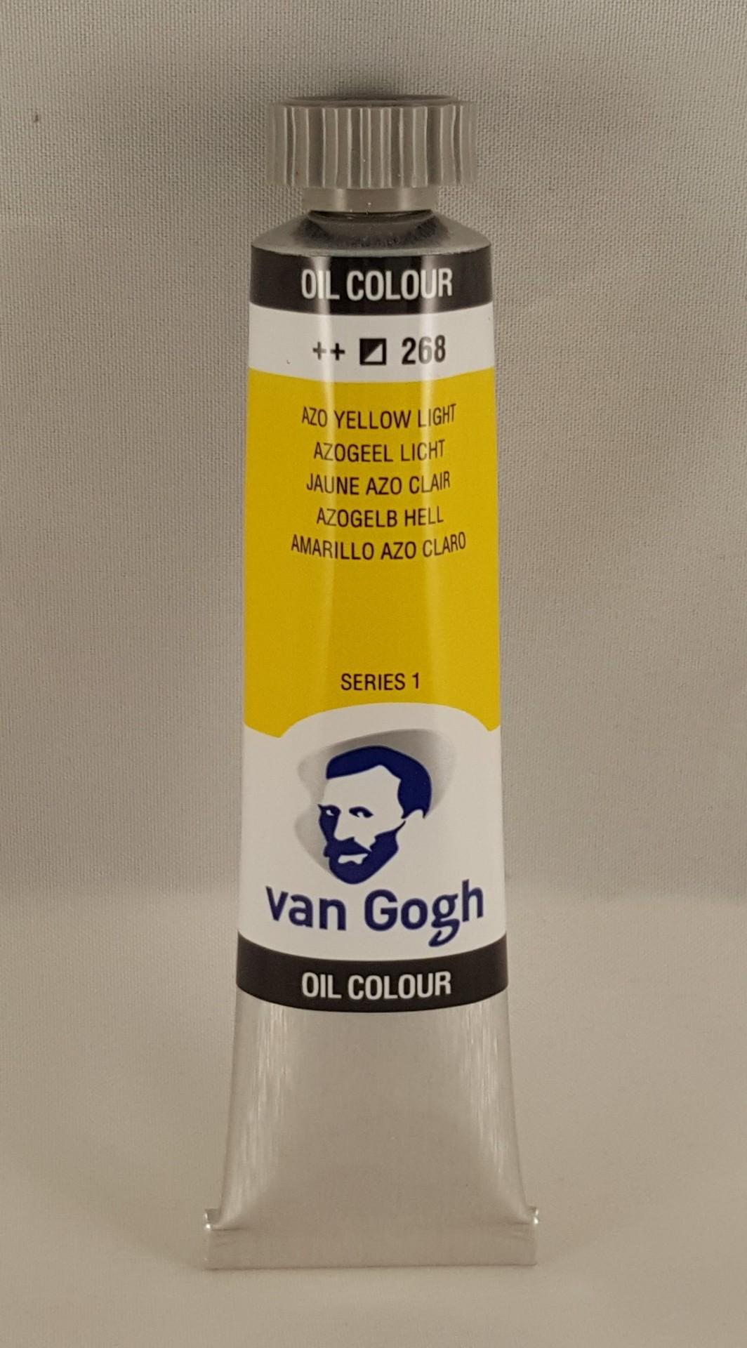 Tinta de óleo Van Gogh azo yellow light