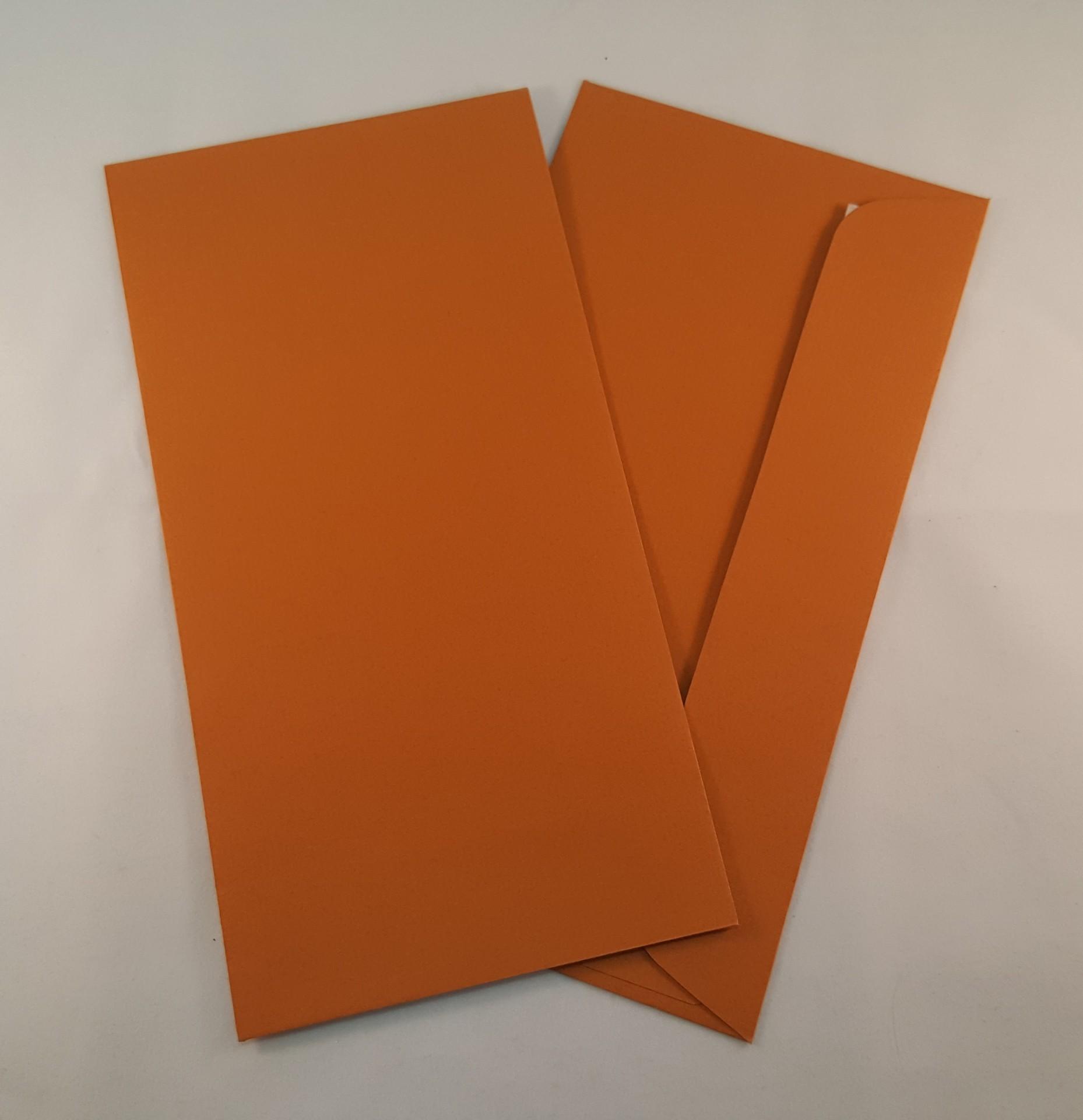 Envelopes DL coloridos cor ocre