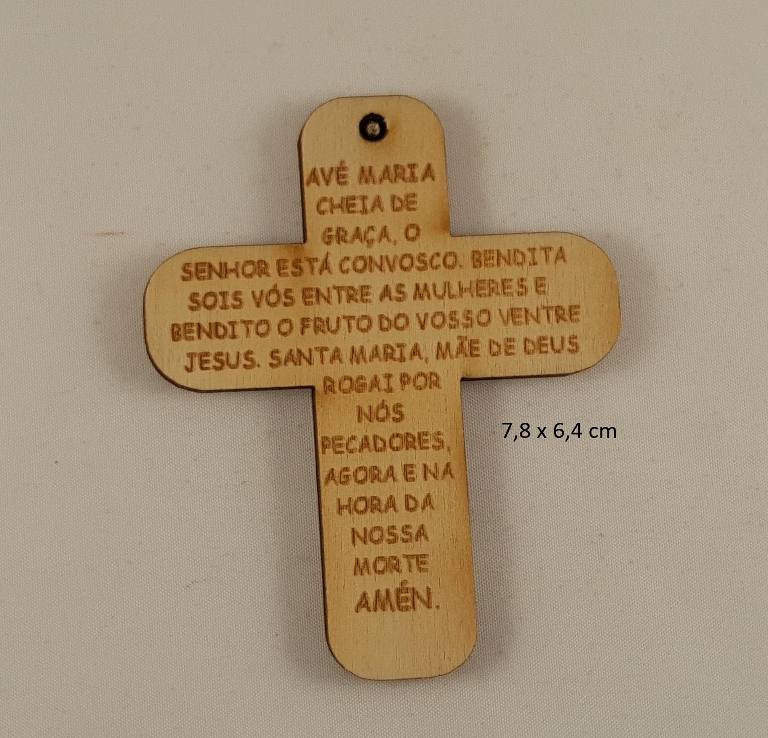 Cruz em MDF