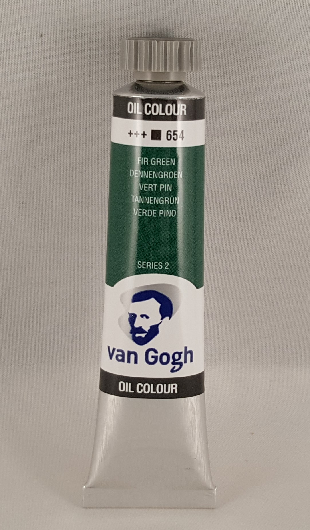 Tinta de óleo Van Gogh fir green