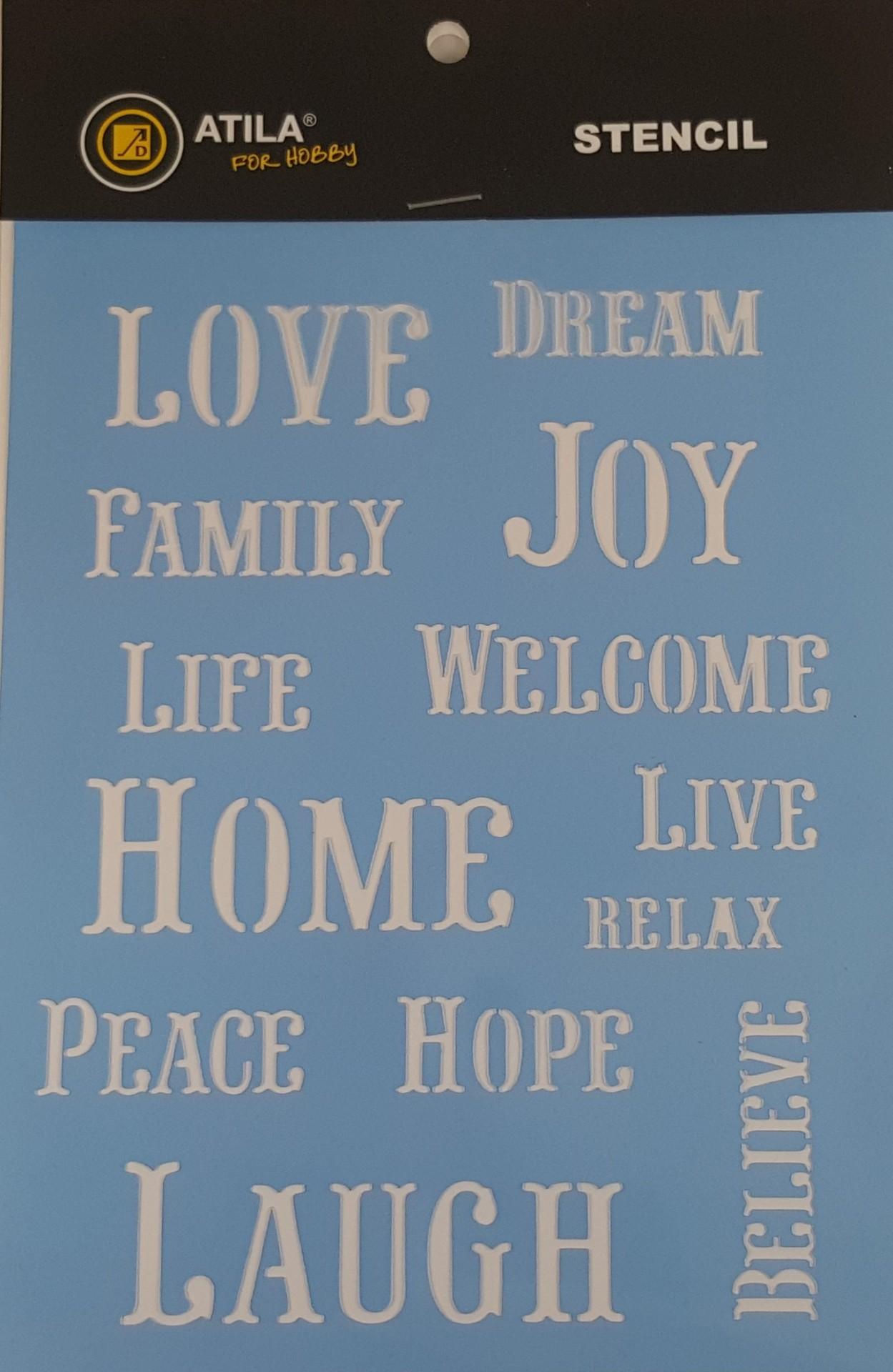 Stencil Love...