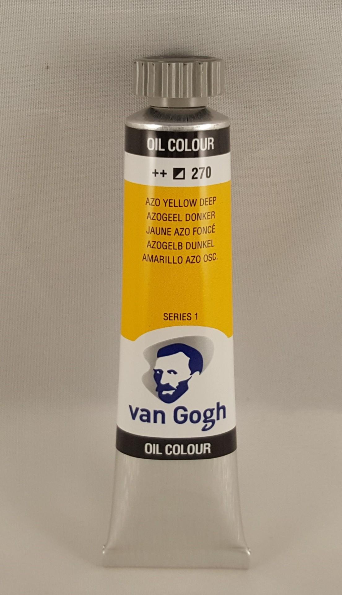 Tinta de óleo Van Gogh azo yellow deep