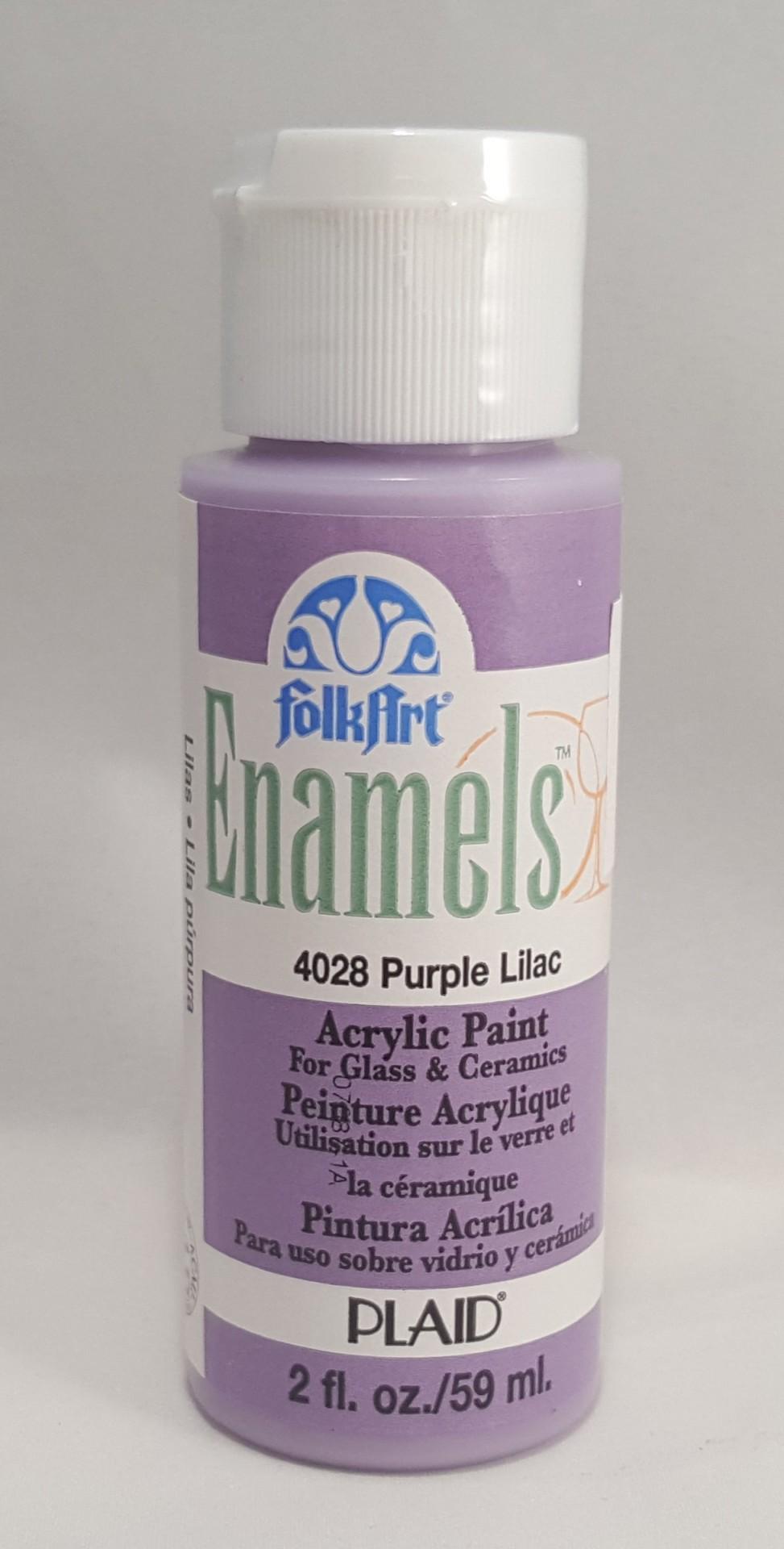 Tinta Acrílica Folkart Enamel Purple lilac
