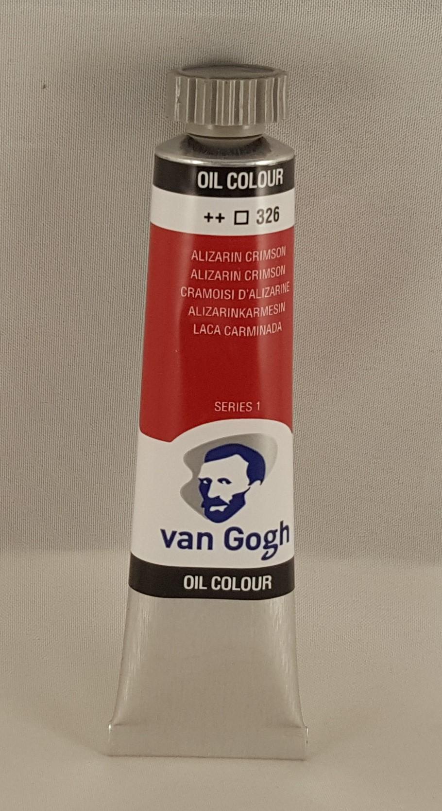 Tinta de óleo Van Gogh alizarin crimson