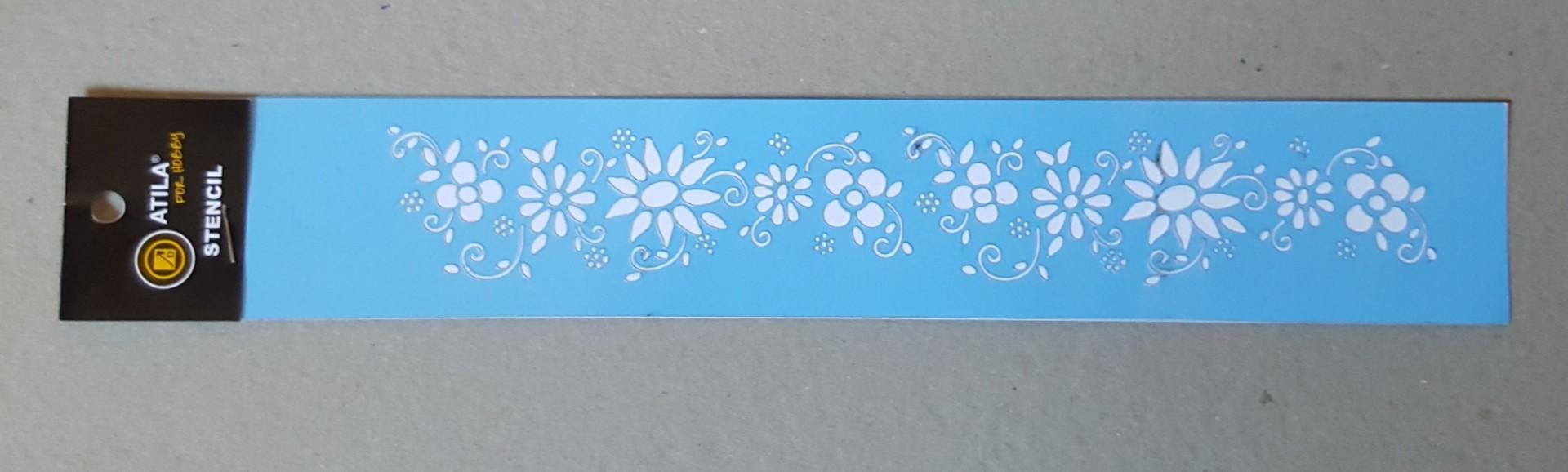 Stencil barra modelo nº 10