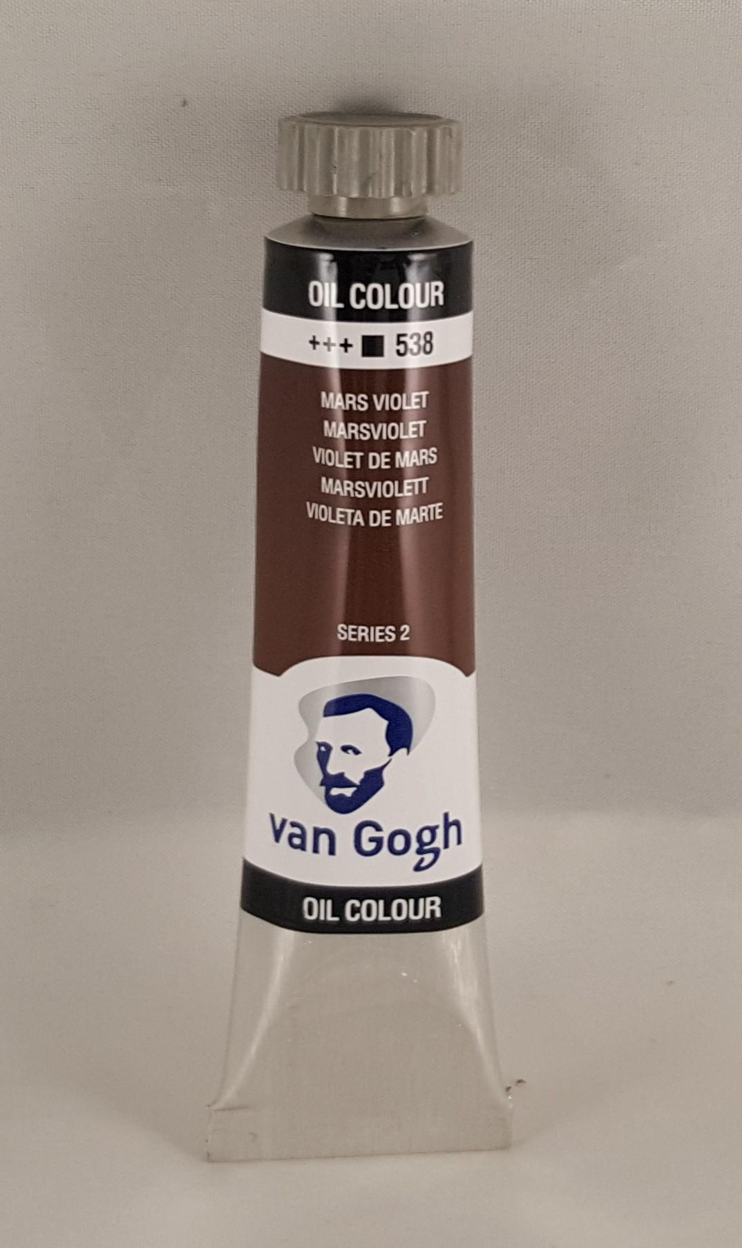 Tinta de óleo Van Gogh mars violet