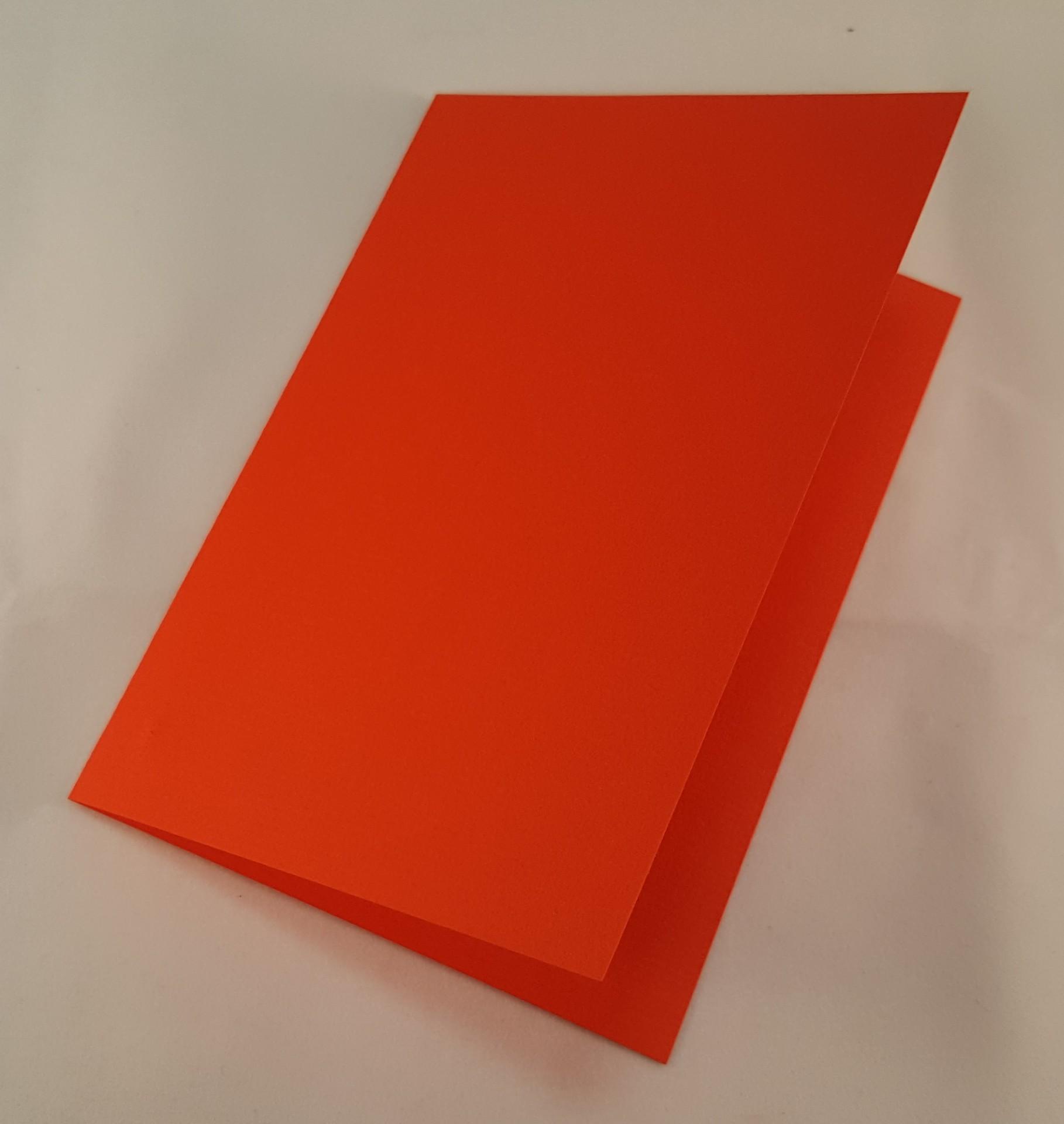 Cartão C6 colorido  cor vermelha