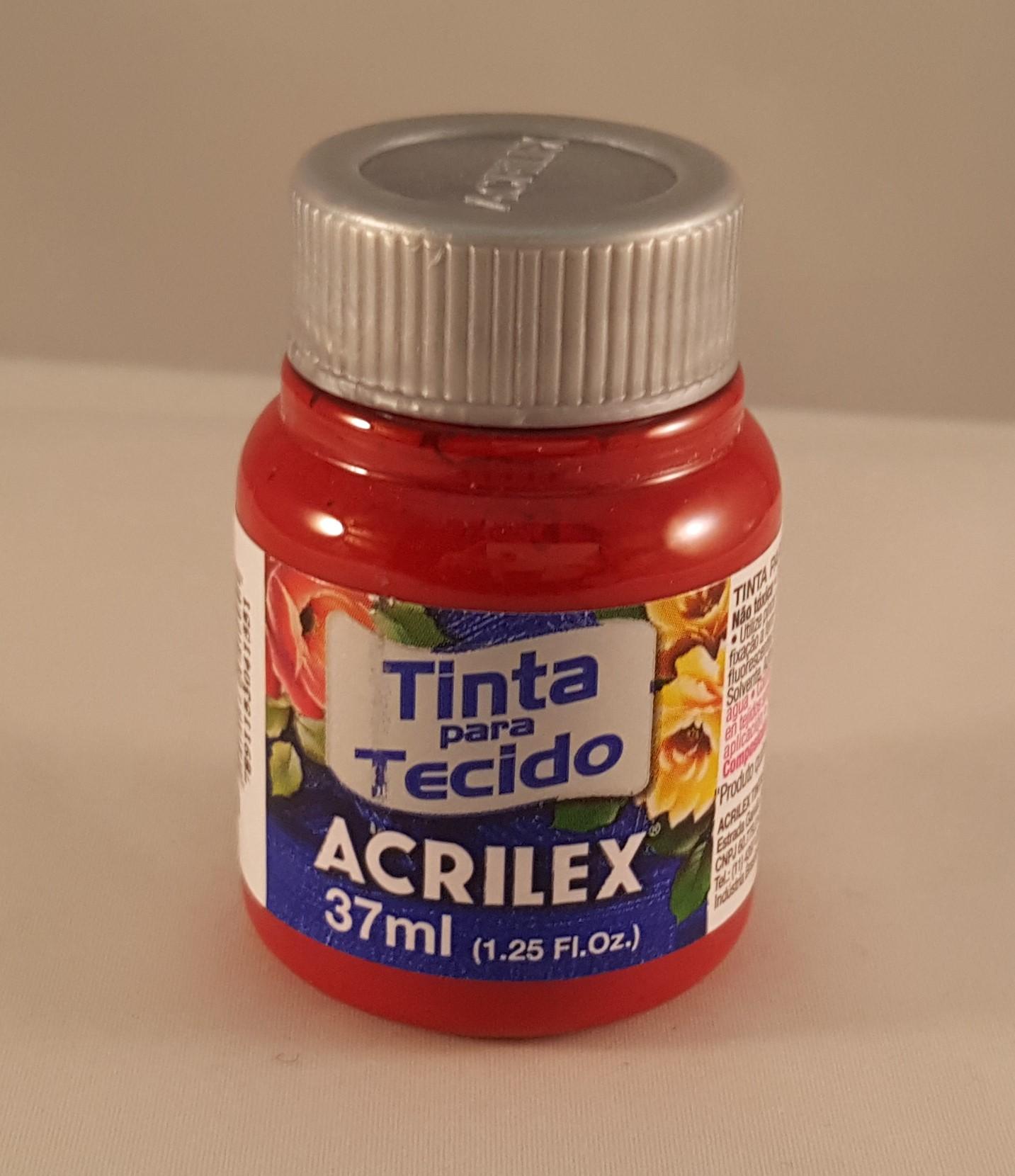 Tinta Tecido Acrilex púrpura 550