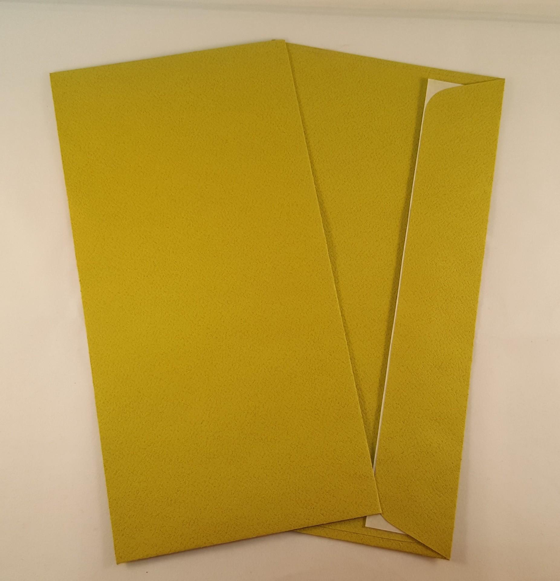 Envelopes DL coloridos cor verde seco