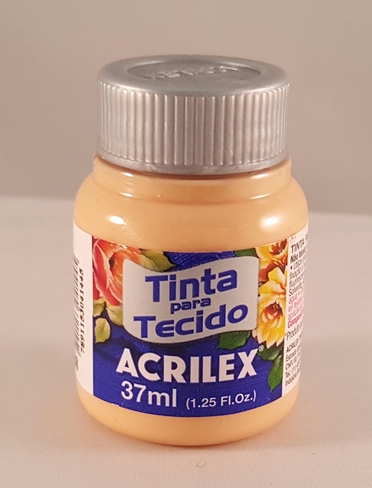 Tintas tecido Acrilex amarelo pele 538