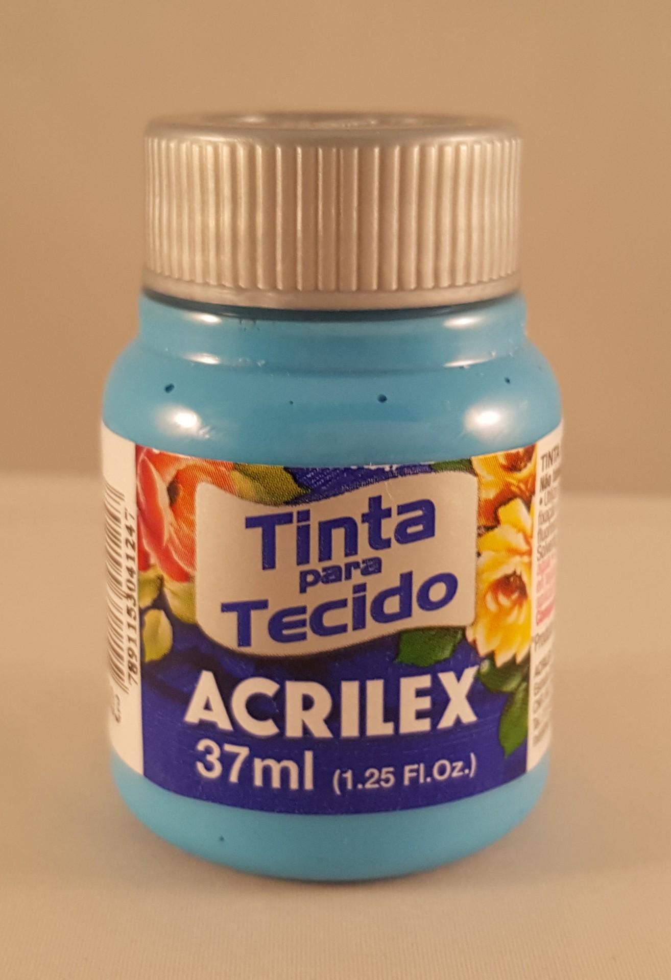 Tinta Tecido Acrilex azul celeste 503