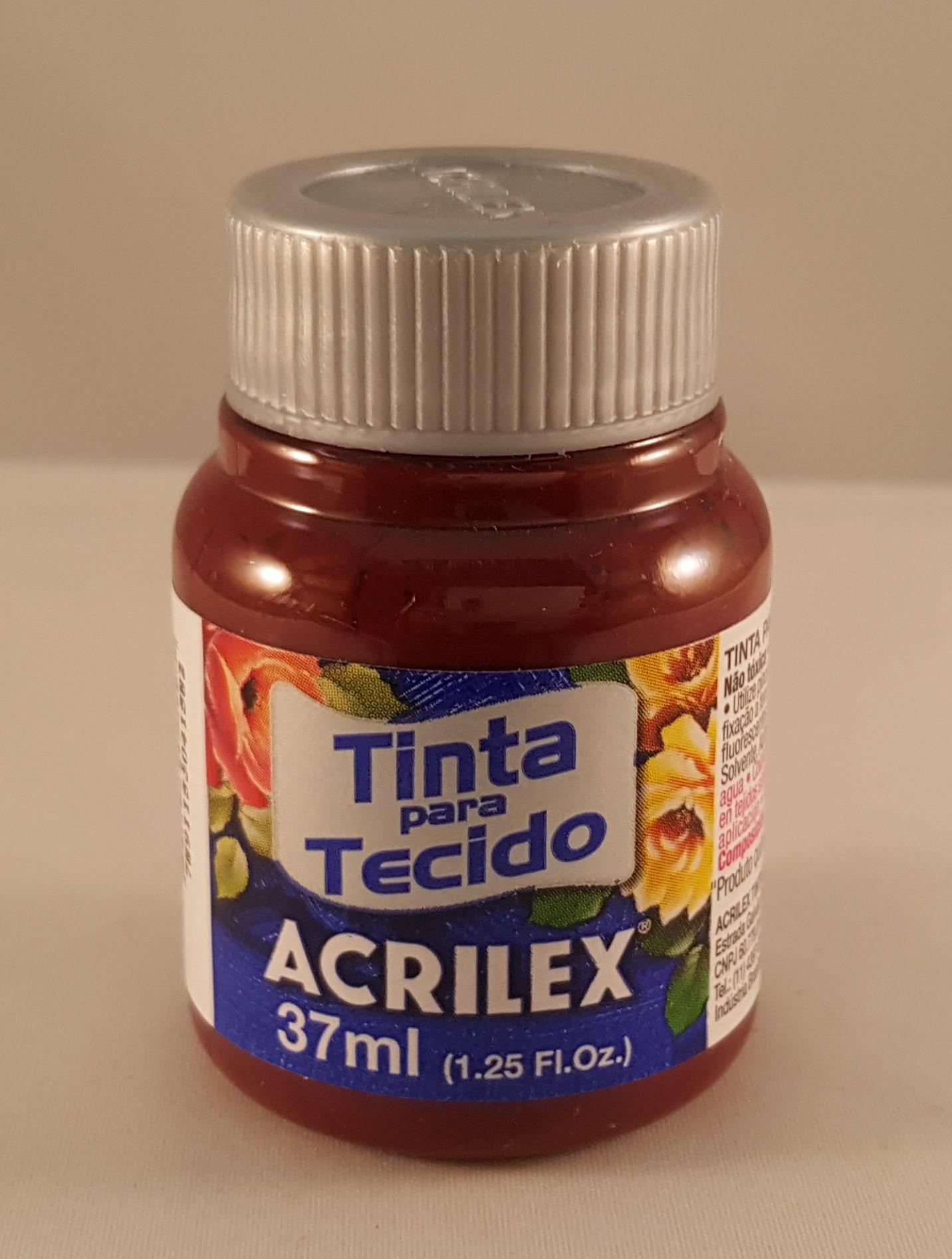 Tinta Tecido Acrilex vinho 565