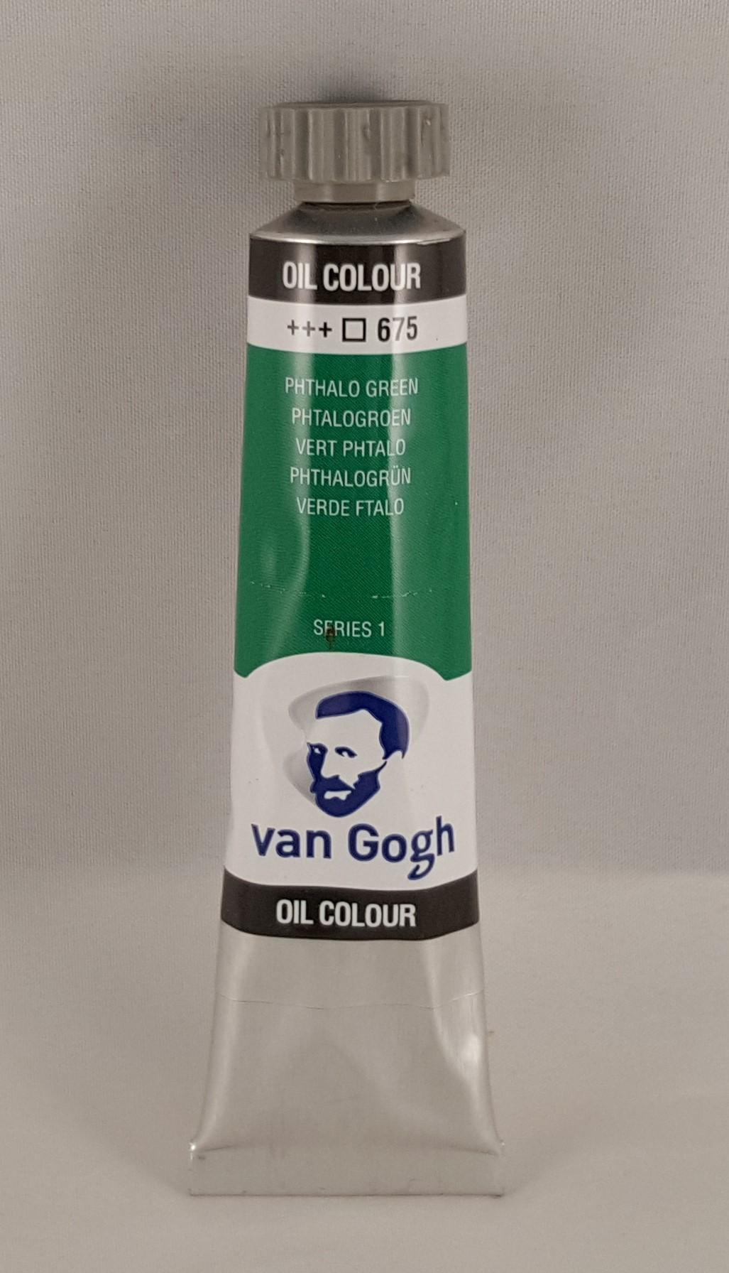 Tinta de óleo Van Gogh phthalo green