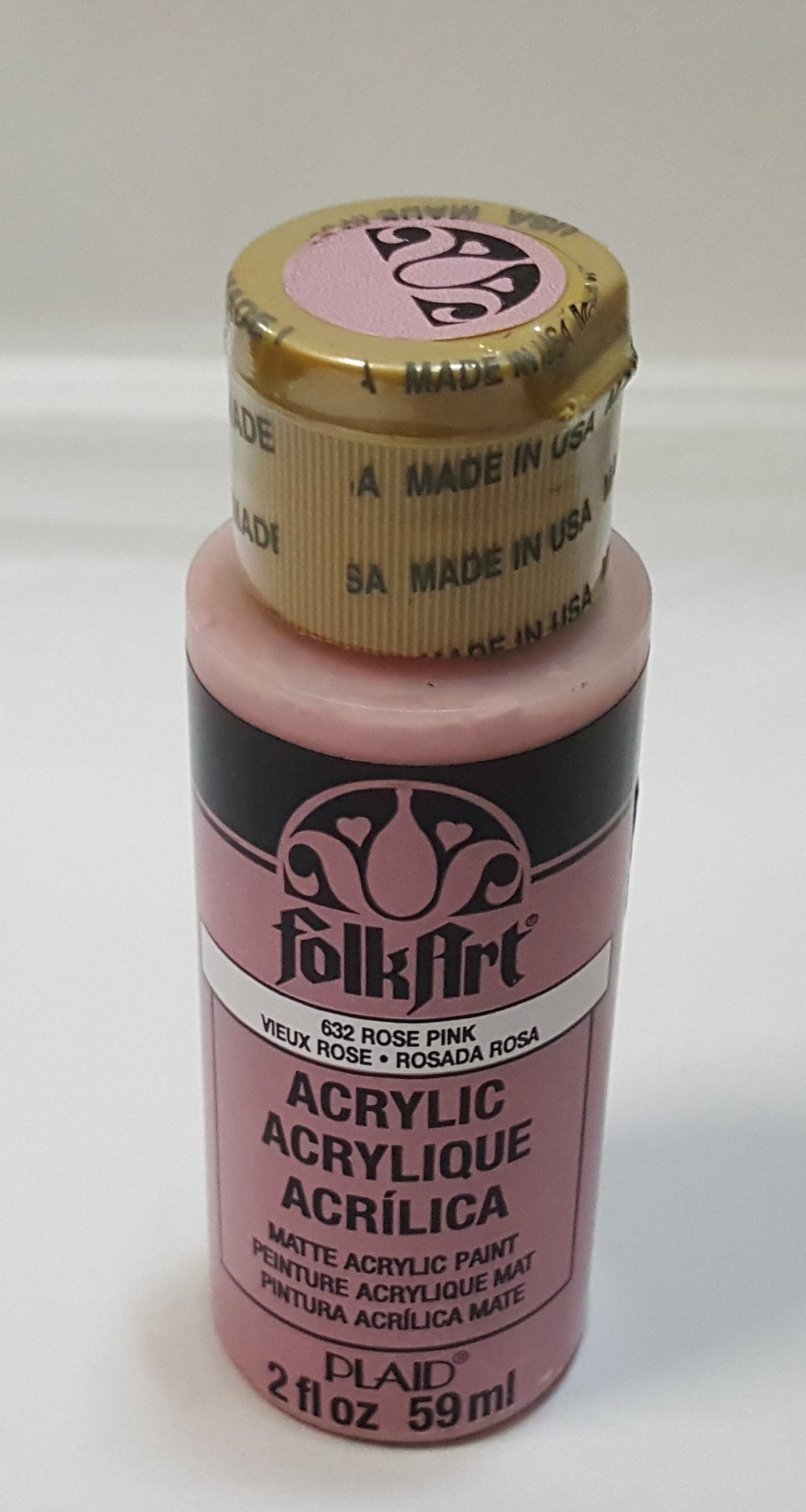 Tinta Acrílica Folkart rosa violeta