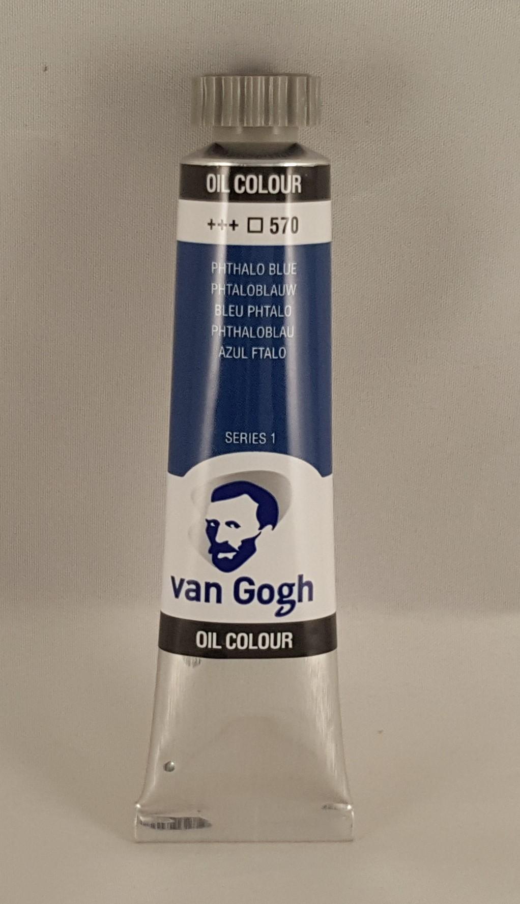 Tinta de óleo Van Gogh phthalo blue