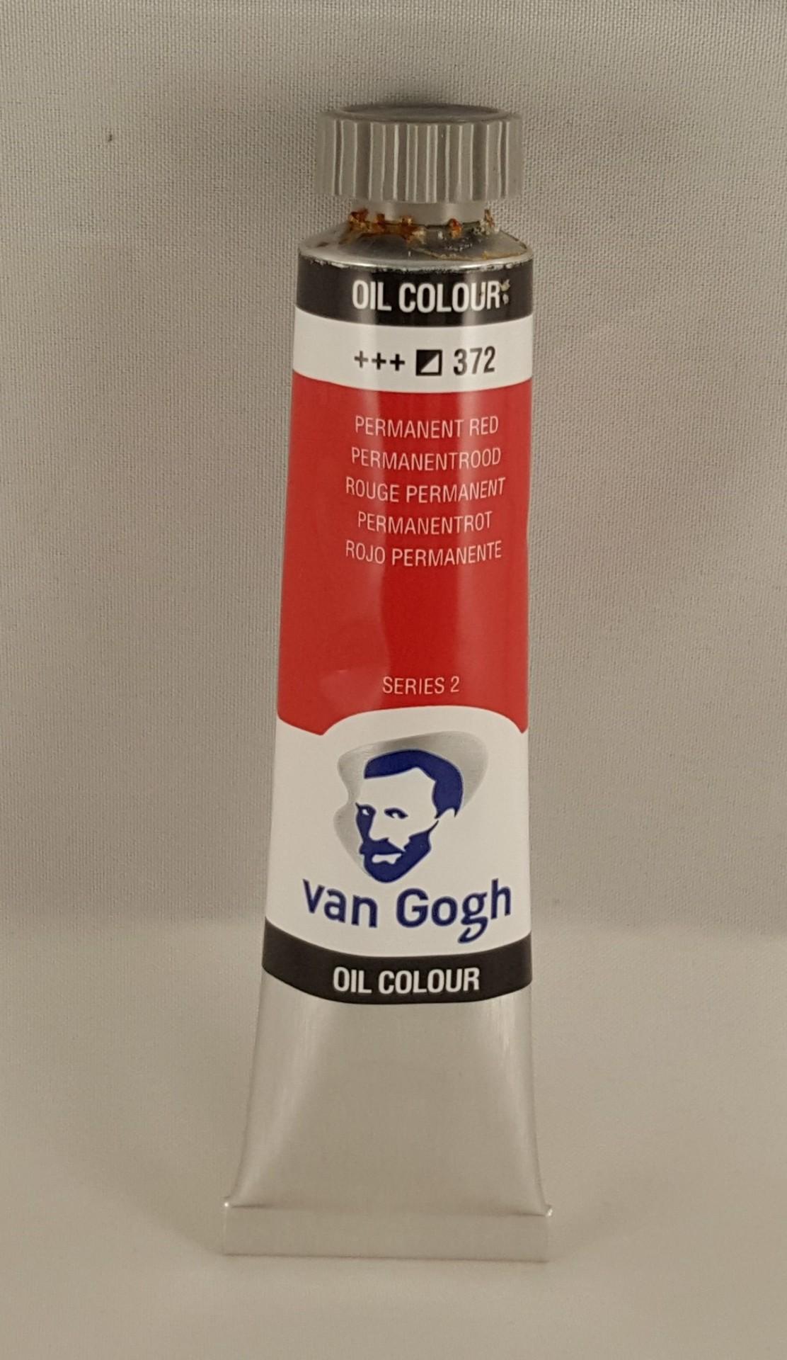 Tinta de óleo Van Gogh permanent red