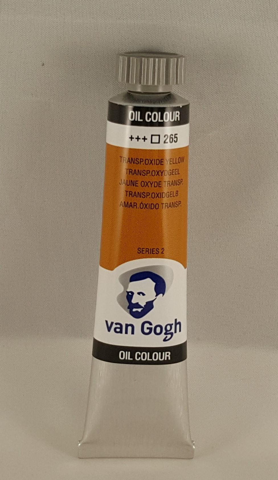 Tinta de óleo Van Gogh transp, oxide yellow