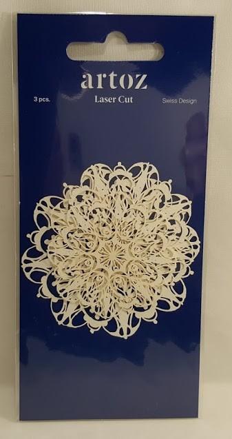 Mandalas em papel recortadas a laser- Artoz
