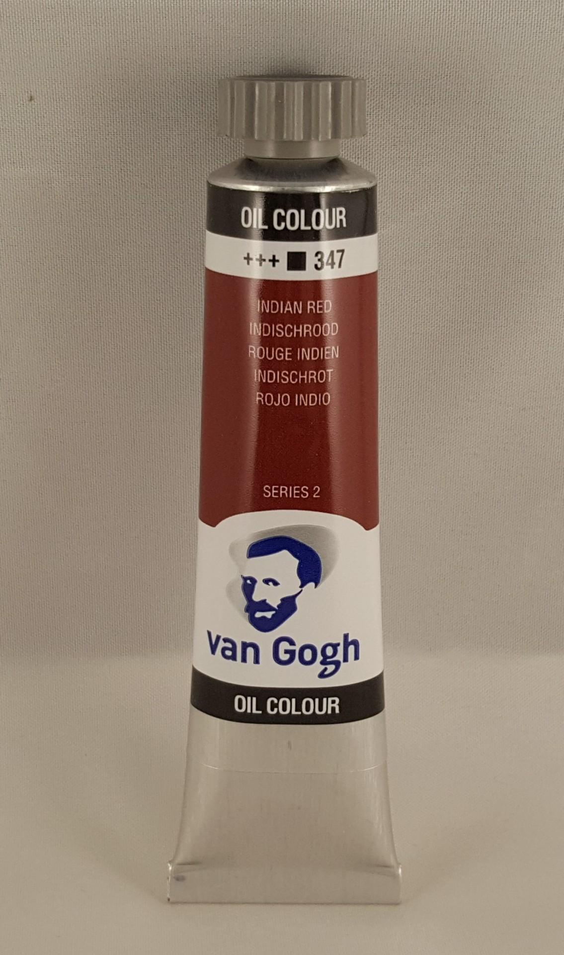 Tinta de óleo Van Gogh indian red