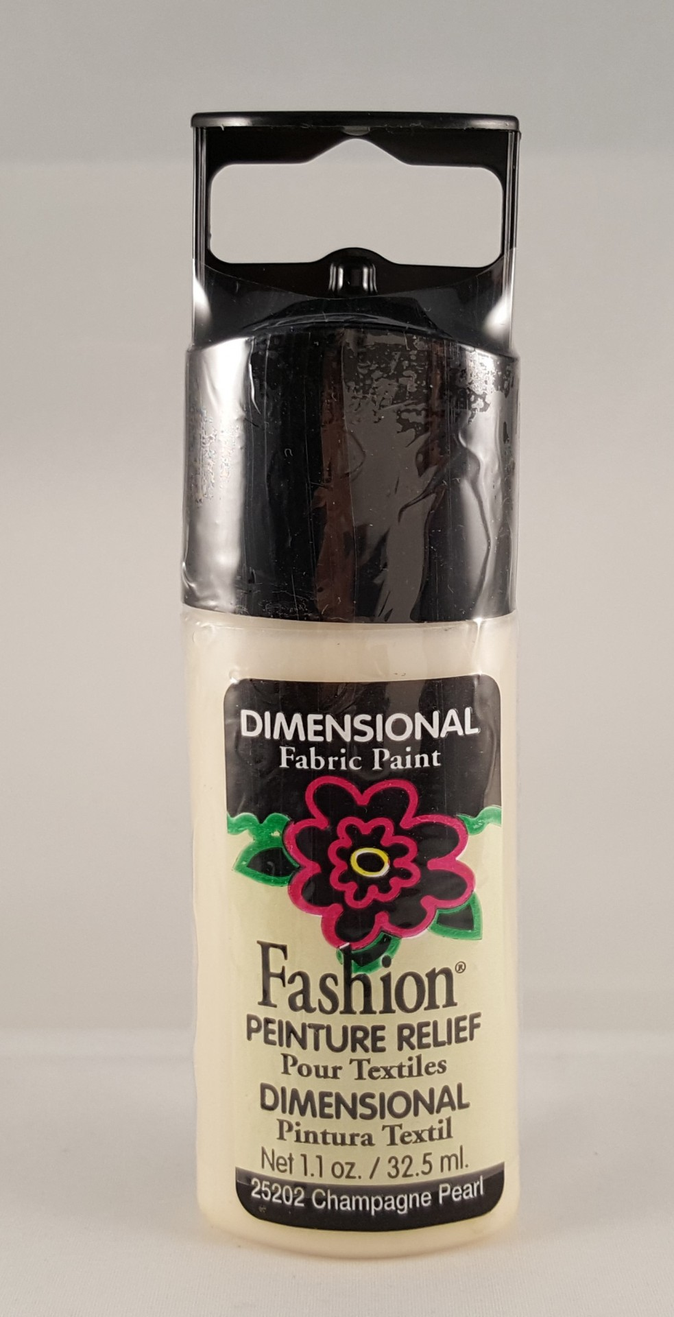 Tinta Dimensional para Tecido Fashion champagne pearl