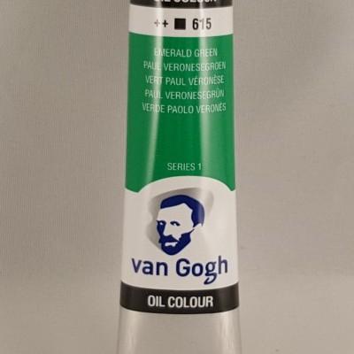 Tinta de óleo Van Gogh emerald green