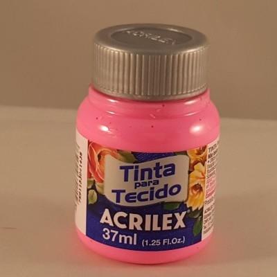 Tinta Tecido Acrilex rosa 537
