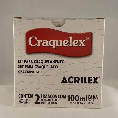 Verniz Crackle Medium Folkart e Kit para crackle
