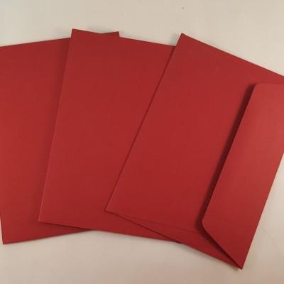 Envelopes C6 coloridos cor magenta