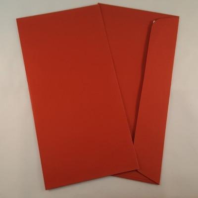 Envelopes DL coloridos cor tijolo