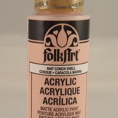 Tinta Acrílica Folkart Conch shell
