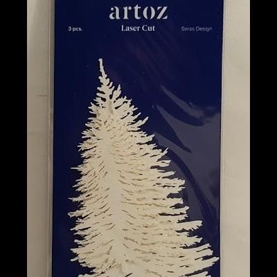 Ávores em papel recortadas a laser- Artoz