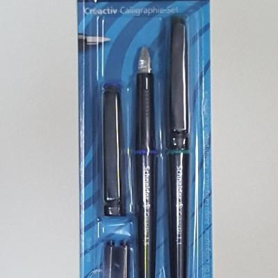 Conjunto canetas de aparo marca Schneider