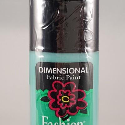 Tinta Dimensional para Tecido Fashion jade sparkle