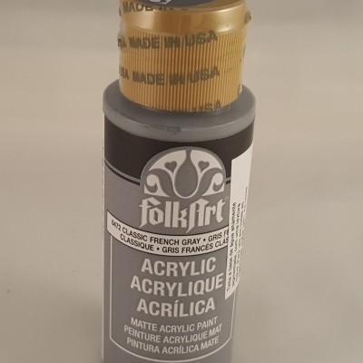 Tinta Acrílica Folkart Classic french grey