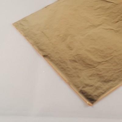 Folha de ouro falsa