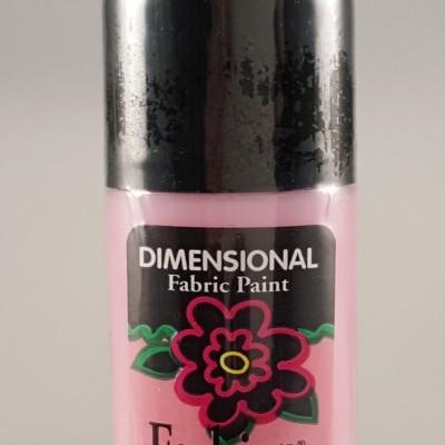 Tinta Dimensional para Tecido Fashion pale pink shiny