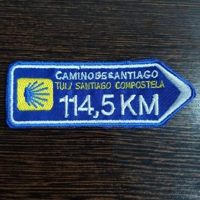 Emblema (Direção Tui -> Santiago)