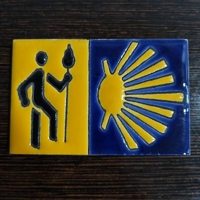 Íman Azulejo (Peregrino)