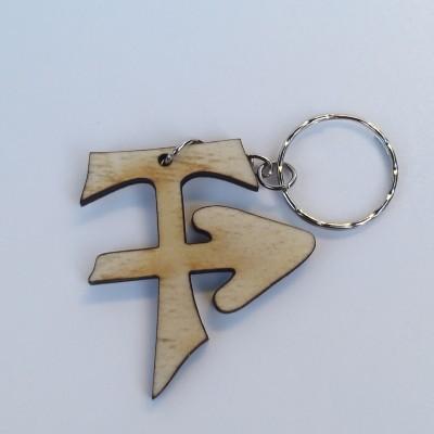 Porta-chaves (Seta + Tau)