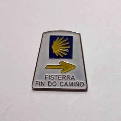 Pin (Marco Santiago - Fisterra)