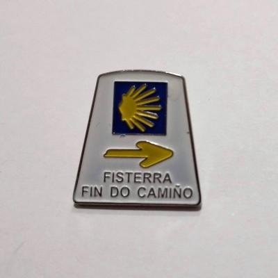 Pin (Marco Santiago - Fisterra)