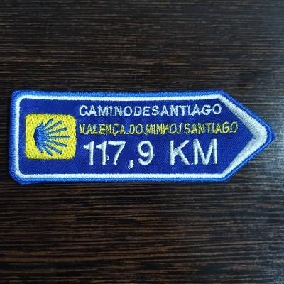 Emblema (Direção Valença -> Santiago)