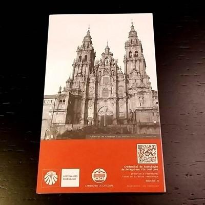 Credencial do Peregrino (Via Lusitana) - Santiago de Compostela