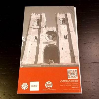 Credencial do Peregrino (Via Lusitana) - Lisboa