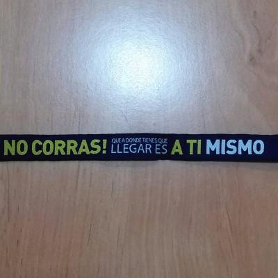 """Pulseira """"No Corras!"""""""
