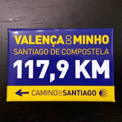 ÍmanKm (Valença - Santiago)