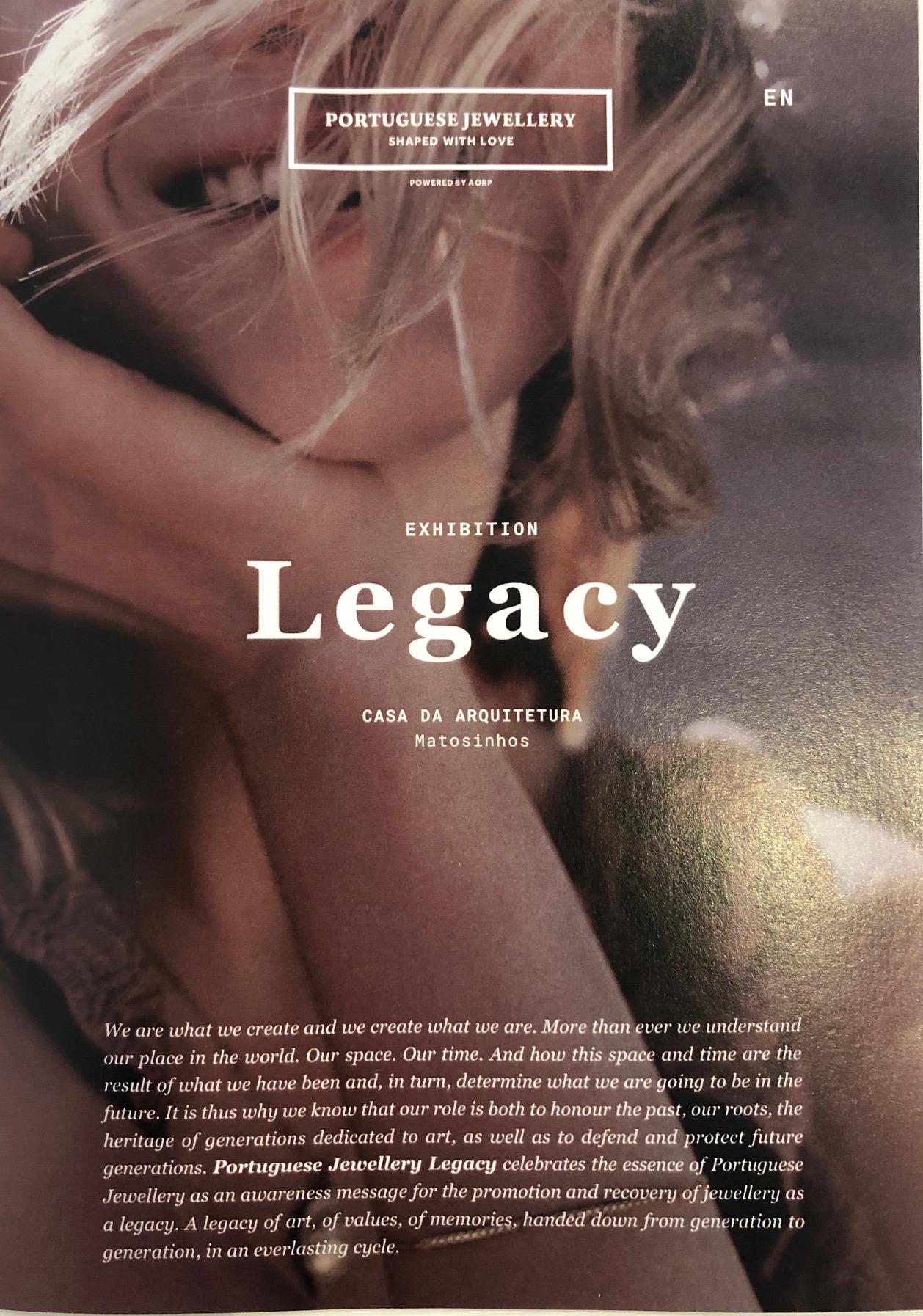 Legacy - SHOCASE & EXHIBITION