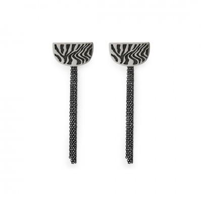 Brincos Zebra